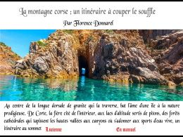 diaporama pps La montagne Corse