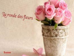diaporama pps La ronde des fleurs