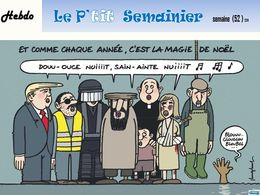 diaporama pps Le p'tit semainier semaine 52 2019