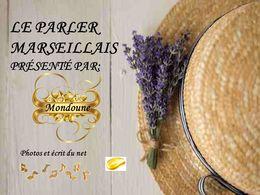 diaporama pps Le parler marseillais