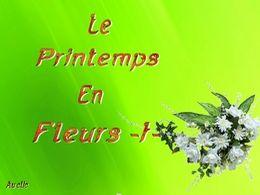 diaporama pps Le printemps en fleurs I