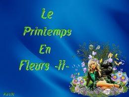 diaporama pps Le printemps en fleurs II