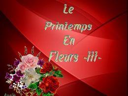 diaporama pps Le printemps en fleurs III