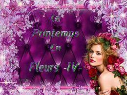 diaporama pps Le printemps en fleurs IV