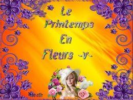 diaporama pps Le printemps en fleurs V