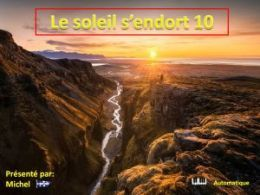 diaporama pps Le soleil s'endort 10