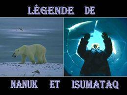 diaporama pps Légende de Nanuk et Isumataq