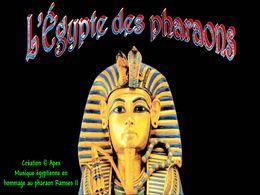 diaporama pps L'Égypte des pharaons