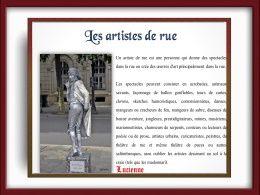 diaporama pps Les artistes de rue