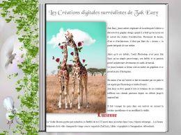 diaporama pps Créations digitales surréalistes de Zak-Eazy