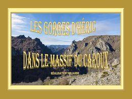 diaporama pps Les Gorges d'Héric