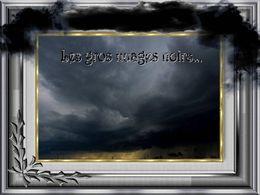 diaporama pps Les gros nuages noirs
