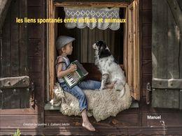 diaporama pps Liens spontanés entre enfants et animaux