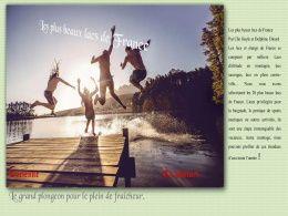 diaporama pps Les plus beaux lacs de France