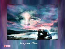 diaporama pps Les yeux d'Elsa