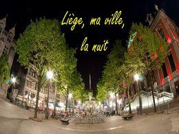 diaporama pps Liège la nuit