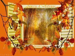 diaporama pps Lumière d'automne