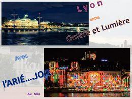 diaporama pps Lyon entre ombre et lumière