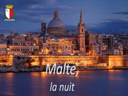 diaporama pps Malte la nuit