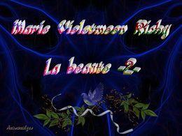 diaporama pps Marie Violetmoon Richy – La beauté II