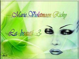 diaporama pps Marie Violetmoon Richy la beauté III