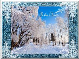 diaporama pps Matin d'hiver