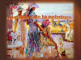 diaporama pps Merveilles de la peinture
