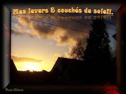 diaporama pps Mes levers et couchers de soleil