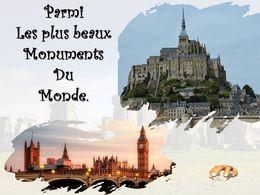 diaporama pps Monuments symboles de pays
