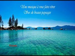 diaporama pps Musique pour rêver sur de beaux paysages