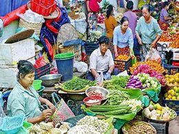 diaporama pps Marchés de Myanmar