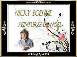 diaporama pps Nicky Boehme – Peintures de Noël