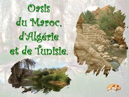 diaporama pps Oasis du Maghreb