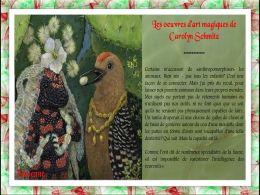 diaporama pps Œuvres d'art magiques de Carolyn Schmitz