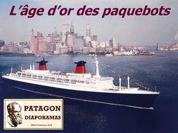 diaporama pps L'âge d'or des paquebots