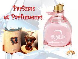 diaporama pps Parfums et parfumeurs