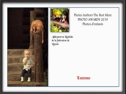 diaporama pps Photo awards 2019 d'enfants