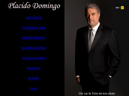 diaporama pps Placido Domingo