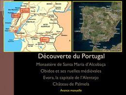 diaporama pps Portugal Alcobaça Obidos Evora