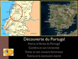 diaporama pps Portugal Aveiro Coimbra Fatima