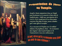 diaporama pps Présentation de Jésus au temple