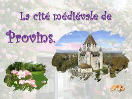 diaporama pps Provins