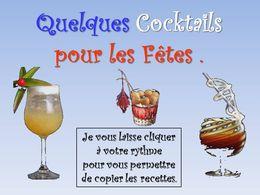 diaporama pps Quelques cocktails