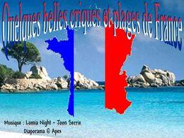 diaporama pps Quelques criques et plages de France