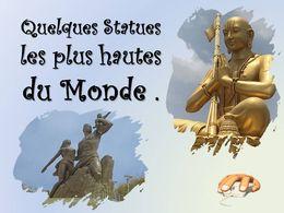 diaporama pps Statues les plus hautes du monde