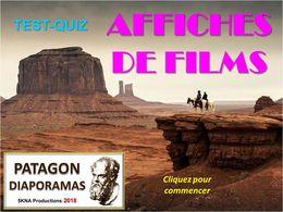 diaporama pps Quiz affiches de films
