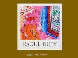 diaporama pps Raoul Dufy