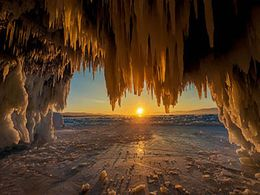 diaporama pps Russie – Lac Baïkal en hiver