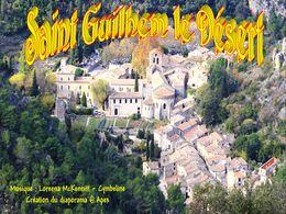 diaporama pps Saint-Guilhem-le-Désert