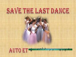 diaporama pps Save the last dance